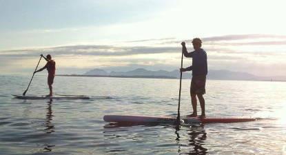 Randonnée en Paddle à Juan-les-Pins