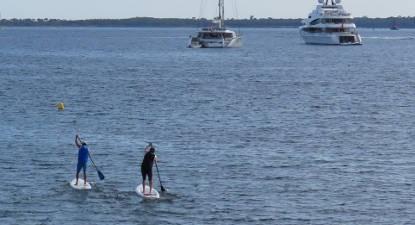 Randonnée en Paddle à Juan-les-Pins près de Cannes