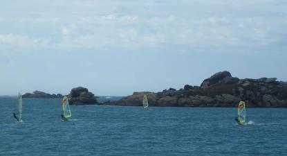 Cours de Windsurf à Lannion