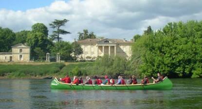 Balade canoë Bergerac