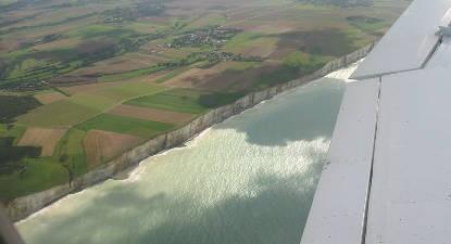 Baptême de l'air en ULM en Normandie - Vol découverte du Tréport