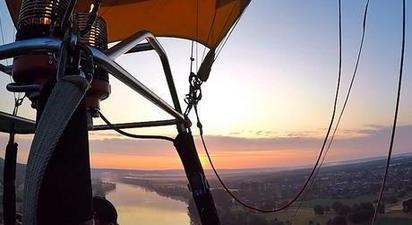 Vol en montgolfière à Gisors - Survol du Parc du Vexin