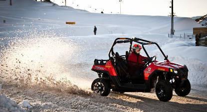 Découverte de la conduite sur glace en Buggy - Circuit de l'Alpe d'Huez