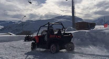 Découverte conduite sur glace Buggy à l'Alpe d'Huez