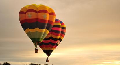Vol en montgolfière en Normandie au dessus de Giverny