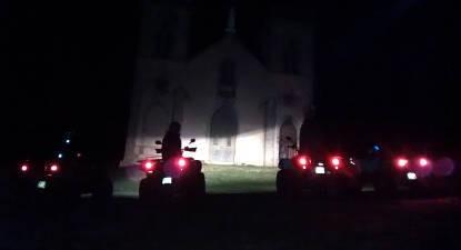 Randonnée nocturne en Quad Près d'Issoire et Clermont-Ferrand