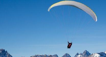 Vol en Parapente à ski aux Orres
