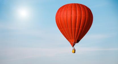 Vol en montgolfière près d'Amboise