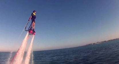 Initiation au Flyboard à la Pointe du Médoc