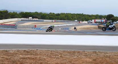 Roulage en Moto Personnelle - Circuit Driving center Paul Ricard