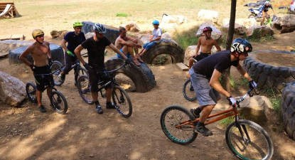 Stage en VTT trial à Tourves près de Marseille