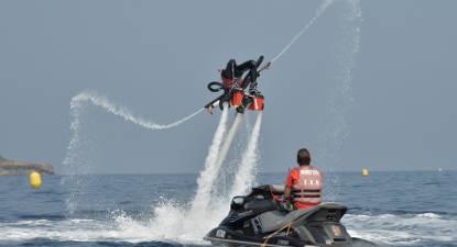 Initiation au Flyboard à Cap-d'Ail près de Monaco et Nice