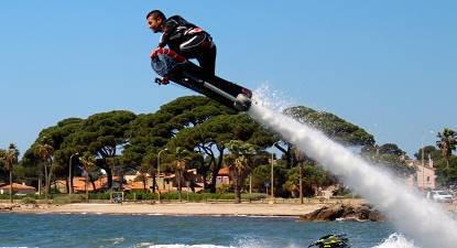 Initiation à l'Hoverboard près de Monaco