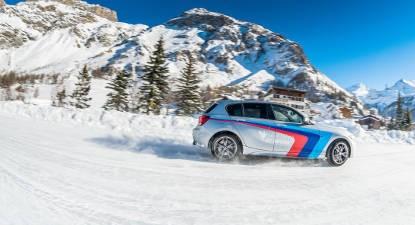 Découverte du pilotage sur glace en BMW à Val d'Isère