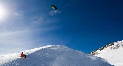 Cours de Snowkite à l'Alpe d'Huez
