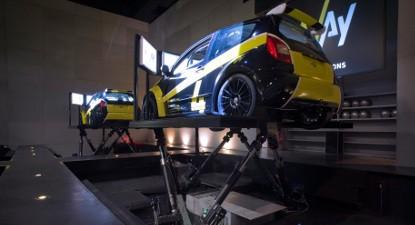 Simulateur de Rallye à Lyon