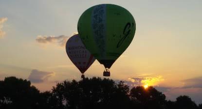Vol en Montgolfière en Haut Poitou près de Poitiers