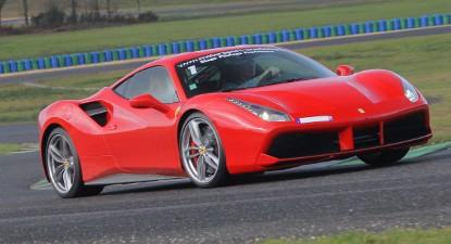 Pilotage en Ferrari 488 GTB - Circuit Maison Blanche