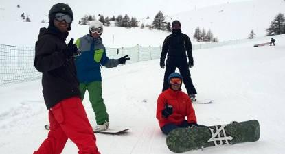 Cours collectif - snow débutant à Vars