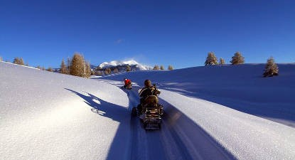 Randonnée Motoneige à Valberg