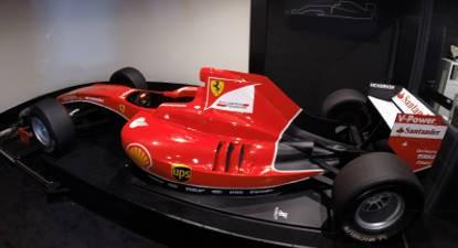 Pilotage de F1 sur Simulateur près de Paris