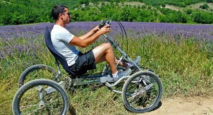 Randonnée en Quadbike près d'Avignon