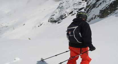 Cours privés de telemark à l'Alpe d'Huez