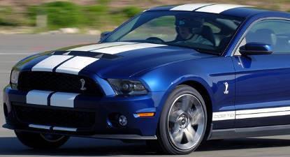 Pilotage d'une Mustang Shelby GT500 - Circuit de Nogaro
