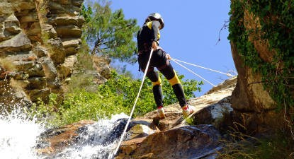 Canyoning au Canyon de Chaley près de Bourg-en-Bresse