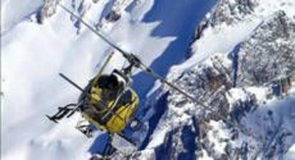 Baptême de l'Air en Hélicoptère - Vol au dessus du Massif du Mont Blanc