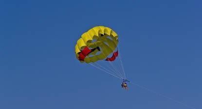 Vol en Parachute Ascensionnel à Port Barcarès