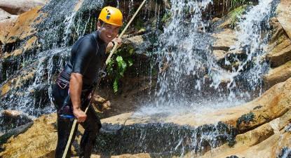 Canyoning près d'Oyonnax