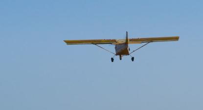 Initiation au pilotage d'un ULM près de Cargèse en Corse