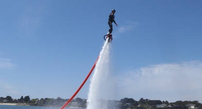 Initiation au Flyboard près de Vannes