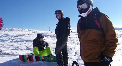 Stage collectif de snow à Risoul