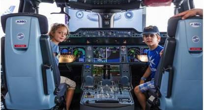 Simulation de vol sur Airbus près de Grenoble