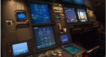 Pilotage sur simulateur d'avion Airbus A320 près de Cannes