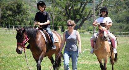 Promenade à cheval près de Valence