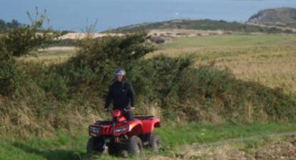 Lancez-vous pour le quad près de Saint-Brieuc