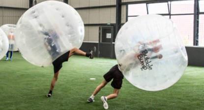 Partie de Bubble Bump à Mâcon