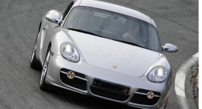 Pilotage en Porsche Cayman S - Circuit de Saint-Laurent-de-Mure