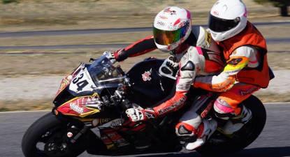 Baptême en Moto ZX10R Kawasaki - Pôle Mécanique d'Alès