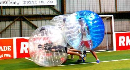 Partie de Bubble Bump à Limoges