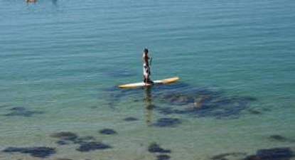 Cours de Paddle à Carnac