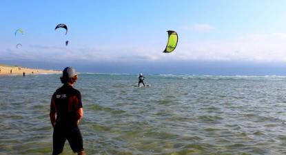 Cours collectif de Kitesurf près de Hossegor