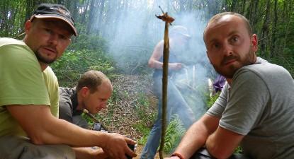 Stage de survie de 5 jours et formation Survival Academy dans le Périgord