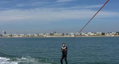 Initiation au ski nautique à Pornichet