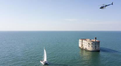 Baptême en Hélicoptère à l'Ile d'Oléron - Survol de Fort Boyard et l'ile d'Aix