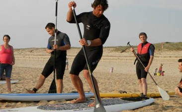 Cours de Paddle à Seignosse