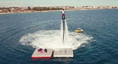 Initiation au Flyboard et HoverBoard près de Cannes